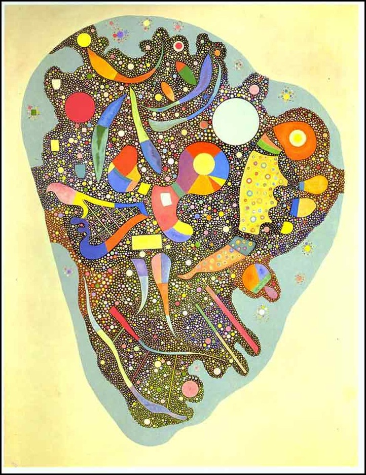 Wassily Kandinsky - Colorful Ensemble 1938